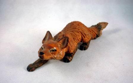 狐狸木雕步骤图片